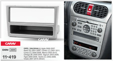 CARAV 11-419 Car Stereo Facia Panel Frame Plate 2DIN for OPEL Agila,Astra,Tigra