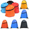 School Drawstring Book Bag Sport Gym Swim PE Dance Girls Boys Kids Backpack Bag