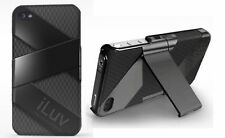 iLuv Arylic Case - With Stand - To Suit iPhone - Dual Layer Silicone