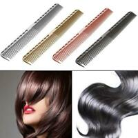 Aluminum Metal Cutting Comb Hair Hairdressing & Barbers Salon Professional New