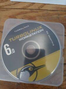 TurboLinux Workstation 6.0 instalation Cd Disc Linux