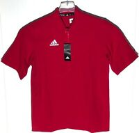 Adidas Team Iconic SS 1/4 Zip Cage Jacket Men's S Baseball Red NWT MSRP $65