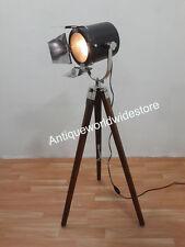 NAUTICAL COLLECTABLE MATT SPOT LIGHT  STUDIO TRIPOD FLOOR LAMP