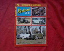 Restored Cars magazine Issue 13 1975, 1938-39 Chevrolet, Austin 7 1929 Ford A