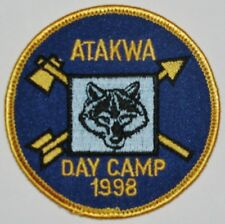 Pee Dee Area Council (SC) Atakwa Dist 1998 Cub Day Camp Pocket Patch  BSA