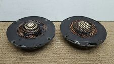 Matched Pair Vtg 4Ohm Acoustic Research AR-3a AR3A Mid-Range Drivers Speakers