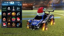 Rocket League PS4 -  All 10 Limited Christmas Items