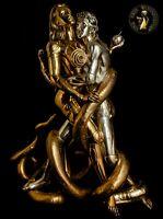 Bronze Skulptur Figur Adam & Eve Statue Erotik Akt Metall Riesen Groß Luxus Sex