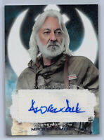 2017 Topps Star Wars: The Last Jedi - Andrew Jack as Major Ematt AUTO CARD
