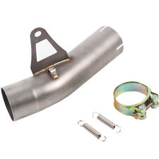 Titanium Alloy Motorcycle Muffler Exhaust Middle Pipe For BMW S1000R 10- 14