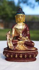 "Brass Medicine Buddha Handmade  Statue in India 4"""