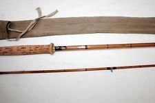 "10'-0"" Sharpes of Aberdeen ""The Scottie"" 2 pc splitcane vintage fly fishing rod"