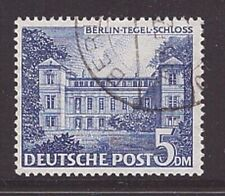 Berlin 60 II Plattenfehler gestempelt Bauten Tegel Schloss Abart geprüft (21855)