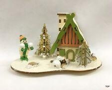 Räucherhaus Räucherhäuschen Winterkind aus Holz 15x10x9 cm Weihnachten günstig