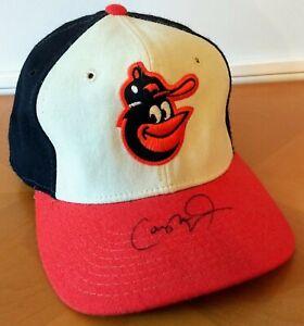 Cal Ripken Jr. Signed Baltimore Orioles Baseball Hat Auto Throwback Cap