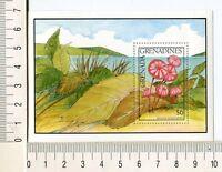 36779) Grenada Grenadines 1991 MNH Mushrooms S/S