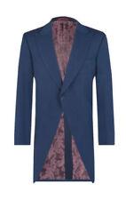 Traje de chaqueta de hombre azules, talla 54