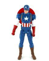 """Marvel Avenger Captain America Hasbro Blue/White/Red Action Figure 11"""" 2016"""