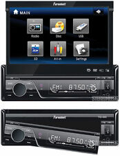 "Farenheit Indash Car 7"" Touchscreen Monitor Dvd/Cd/Mp3/iPod Player 1-Din Stereo"