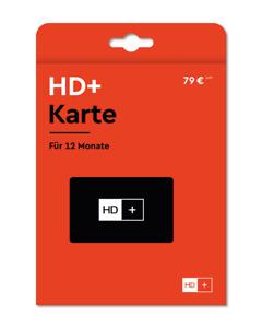 HD+ Karte für 12 Monate Laufzeit HD+ Sender HD05 Karte SAT Empfang Astra