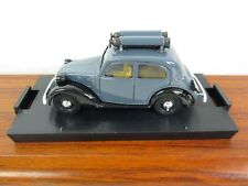 BRUMM. Fiat 508 C Berlina 1100 1937-39. Grey / Black. 1:43. R32