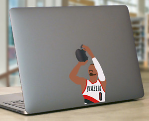 Damian Lillard Macbook laptop Sticker Portland Blazers Basketball Apple Sticker