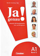JA GENAU! A1/2 KURSBUCH (LIBRO CURSO). ENVÍO URGENTE (ESPAÑA)