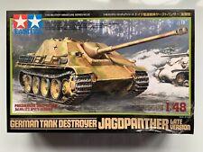 Tamiya 32522 Gerrman Tank Destroyer Jagdpanther Late Ver 1:48 Military Model NIB