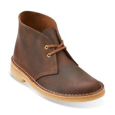 New CLARKS Womens Originals Desert Boot Beeswax Leather Shoes 26111499 SZ 6 M