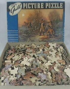 1967 The Darkest Hour 375 Pcs Jigsaw Puzzle Guild Picture Puzzle Complete C Pix!