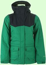 HOLDEN Women's LOUISA Snow Jacket  - Ultramarine / Green Peacoat - Small - NWT