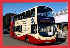 Photo ~ Brighton & Hove 418: BJ11XHU: Wright Gemini Volvo B9TL: Rail Replacement