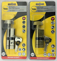 Yale Anti-Snap Thumb Turn Euro Cylinder British Standard