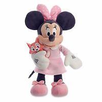 Minnie Mouse Plush - Minnie Pink  - Authentic Disney Minnie Baby Plush - BNWT