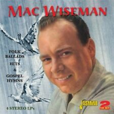 Mac Wiseman - Folk Ballads Hits & Gospel Hymns [New CD] UK - Import
