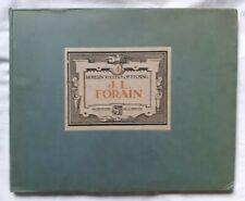 Les Maîtres modernes de l' eau-forte : Jean Louis Forain ed Flammarion Art