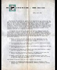"""LYON (69) Organisme CHRETIEN """"LAYCAT MISSIONNAIRE / Jacques CHIFLET"""" en 1961"""