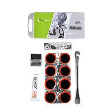 RockBros Bike Tyre Inner Tube Mini Tire Repair Tool Box Puncture Repair Kit Set