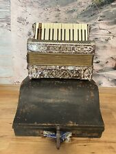 Akkordeon Colibri mit Koffer Antiquariat Unikat alt Musikinstrument