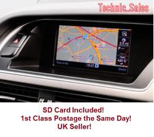 Audi 2018 MMI 3G Basic Sat Nav Map Update Europe SD Card A4/A5/A6/Q5/Q7