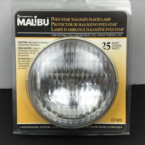 INTERMATIC MALIBU POLYSTAR FLOODLAMP 25 WATT LAMP (12V) LV505 ~ NOS  OEM  OER
