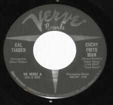 "Cal Tjader 7"" 45 HEAR MOD LATIN NORTHERN SOUL Cuchy Frito Man VERVE Soul Burst"