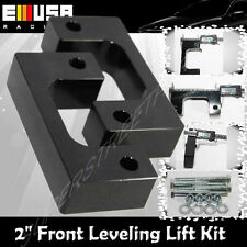"""2"""" Front Leveling lift kit for Chevy Silverado 07-17 GMC Sierra GM 1500 LM Black"""