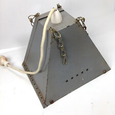 VINTAGE STEEL INDUSTRIAL LIGHT LAMP SHADE