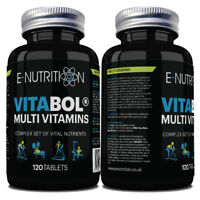 VITABOL® 120 TABLETS - MULTI VITAMINS AND MINERALS COMPLEX FOR MEN AND WOMEN