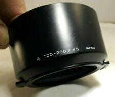 Minolta 100-200mm f4.5 AF A Maxxum Lens Shade genuine OEM