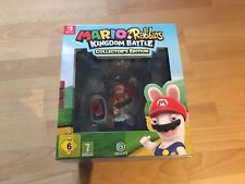 NEU Mario & Rabbids Kingdom Battle Collector' Edition - Spiel mit Figur