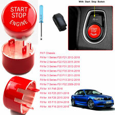 Red Engine Start Button Switch With Stop Replacement Kit for BMW FSeries 2009-18