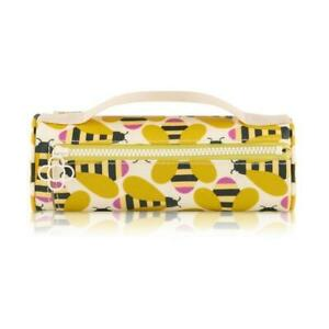 Orla Kiely Busy Bee Pencil Case Cosmetic Bag