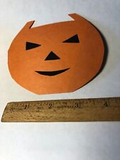 Vintage 1940's Pumpkin Halloween Party Invitation Card Brown University?